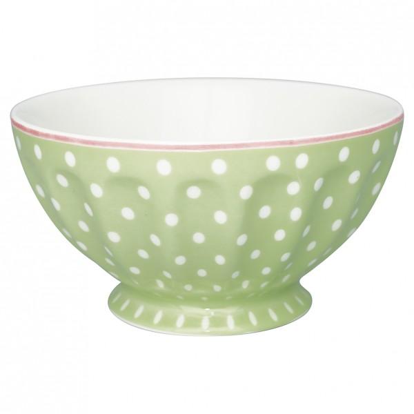 GreenGate Schale / French Bowl Spot Pale Green, xlarge