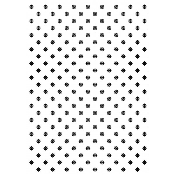 Tafelgut, Geschenkpapier BLACK FLOWER PATTERN, 2er Set