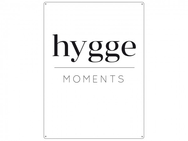 """Holzschild """"hygge Moments"""""""