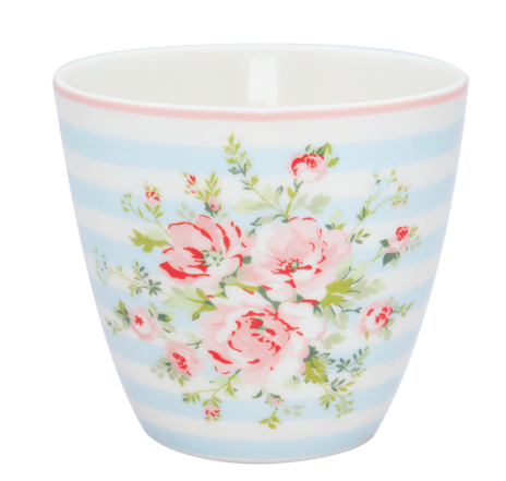 Greengate Ltd. Edition Latte Cup Nellie pale blue