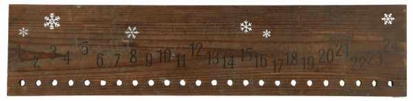Ib Laursen Holzschild Adventskalender