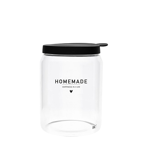 Bastion Collections Vorratsglas Homemade (Herz), groß