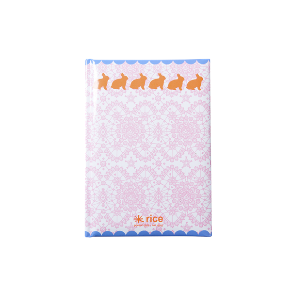 "Rice Notizbuch A5 ""Lace Bunnys"""