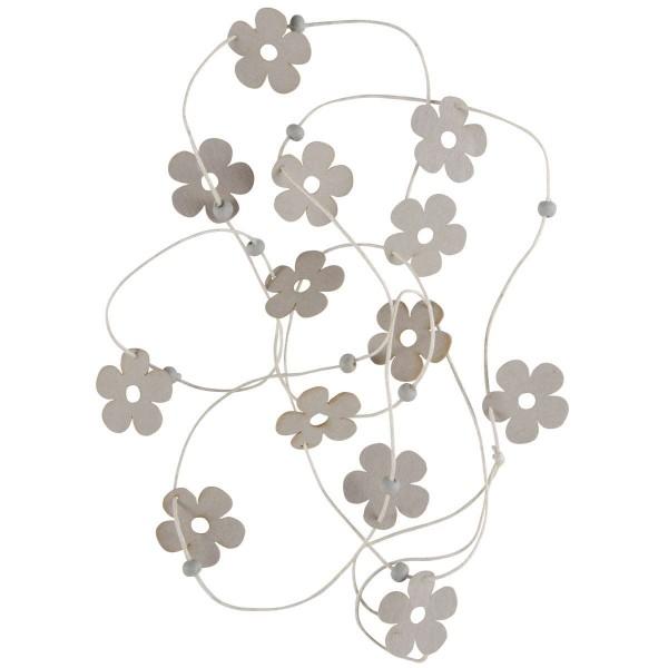 Ib Laursen Schnur mit Papierblumen, Natur