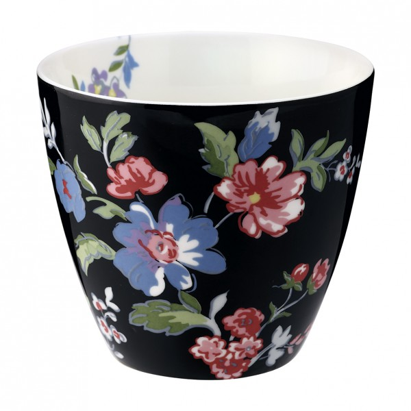Greengate Latte Cup Isobel Black