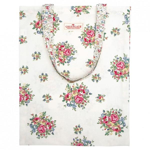 GreenGate Stofftasche / Bag Cotton Franka White