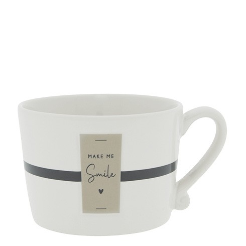 Bastion Collections Cup White / Make me smile