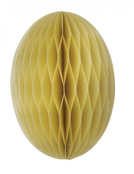 Papier-Osterei Swirl, 20 cm, Limelight - Gelb