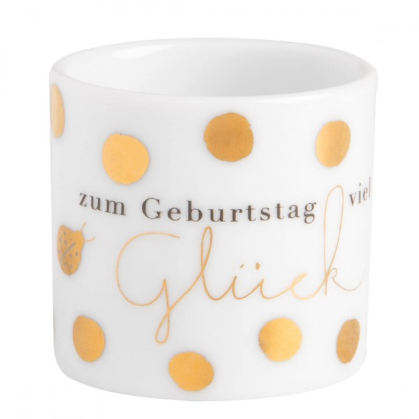 "Teelichthalter Helle Freude ""Glück"""