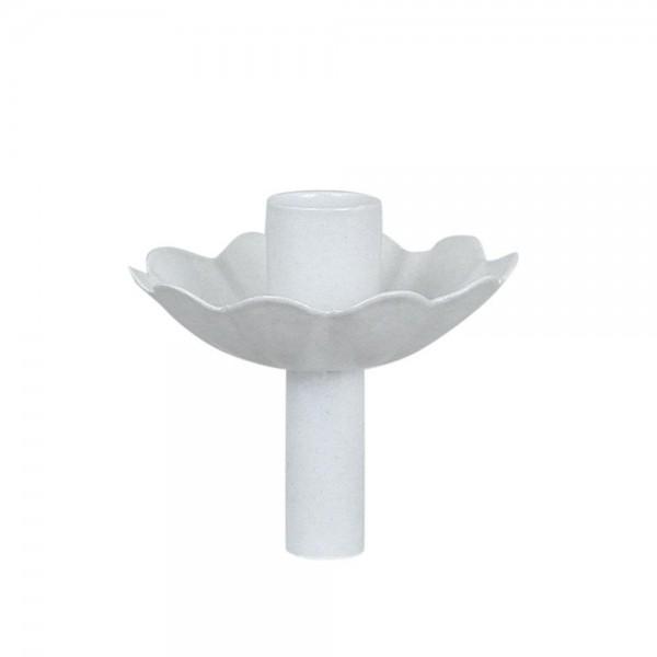 Strömshaga Kerzenhalter für Flaschen (gwellt), Weiß
