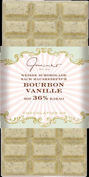 Weiße Schokolade, Vanille, 100 g