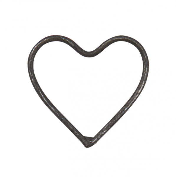 Ib Laursen Geschenkanhänger Herz aus Draht