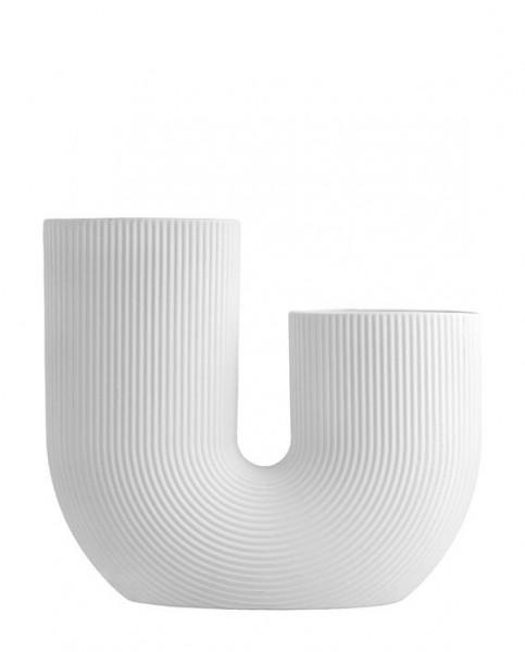 Storefactory Blumenvase STRAVALLA, weiß