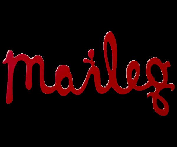 Maileg Schriftzug Logo, rot