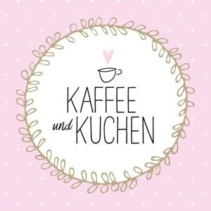 """Papierservietten """"Kaffee und Kuchen"""""""