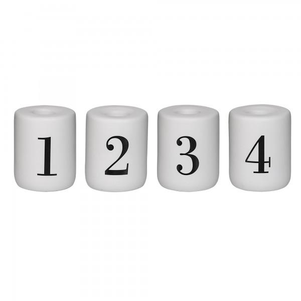 Bloomingville Kerzenhalter 1-4, 4teilig