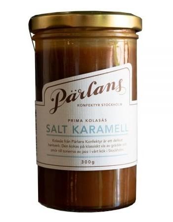 Pärlans Konfektyr Salt Karamell, Karamellsauce, 300 g