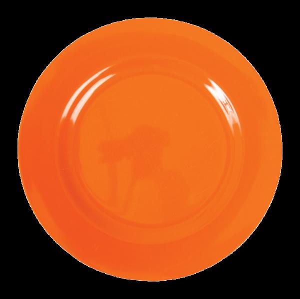Rice Melamin Teller, Orange
