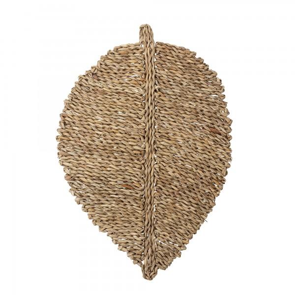 Bloomingville Platzset Blatt aus Seegras