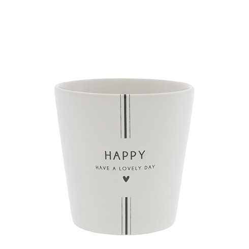 Bastion Collections Becher / Mug Have a Lovely Day in Black